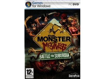 MONSTER Madness - kötta monster / PC spel / NY <---- JULKLAPP