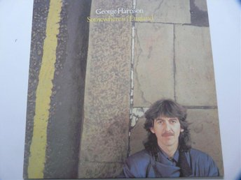 "George Harrison vinyl ""Somewhere In England"" från 1981, Dark Horse Records."