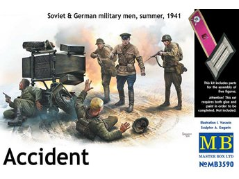 Masterbox 1/35 Accident, Soviet & German Military, Summer 1941