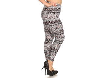 TRIBAL LEGGINGS  50-52 / XXXL - 4XL