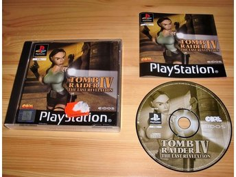 PS: Tomb Raider IV the Last Revelation