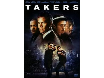 Takers (DVD) Ord Pris 79 kr SALE