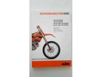KTM SX EXC 250 400 450 525 owner manual