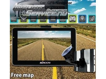 "KKMOON 7"" Portable HD Screen GPS Navigator"