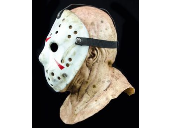 Jason vs Freddy The 13th Prop Horror Hockey Costume Cosplay Mask Prop