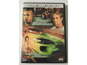 The Fast and the Furious DVD (New Turbo Edition) 2001