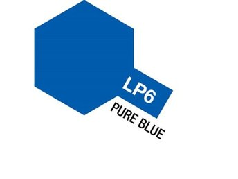Tamiya Lacquer Paint 10ml : LP-6 Pure Blue