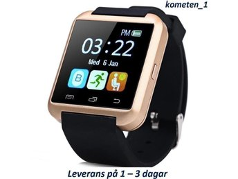 U8 Guld Smartwatch för Android, IOS, HTC, Samsung, Iphone smart watch