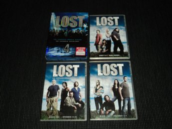 DVD Box Lost Säsong 4