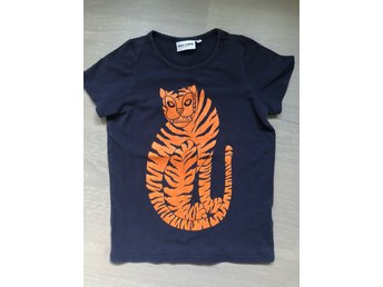 T-shirt med tiger Mini Rodini, storlek128/134