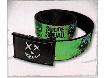 Suicide squad bälte loot crate ny oöppnad
