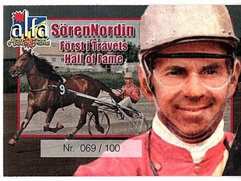 Alfa Hall of Fame Sören Nordin 069/100