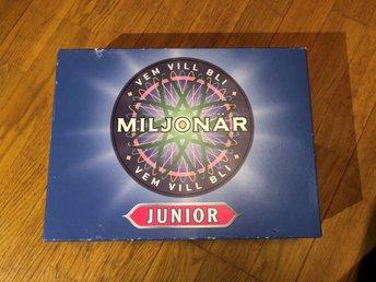 vem vill bli miljonär junior
