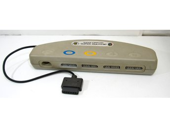 Super Multitap 4 player adapter, SNES (gulnad)