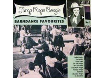 Various - Jump Rope Boogie - Barndance Favourites No 1 (10'') NY - FRI FRAKT