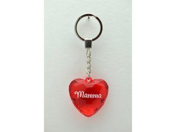 Diamond keyring Mamma