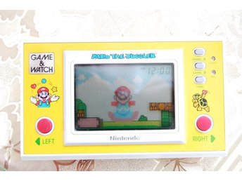 NINTENDO GAME & WATCH MARIO THE JUGGLER SUPER SÄLLSYNT