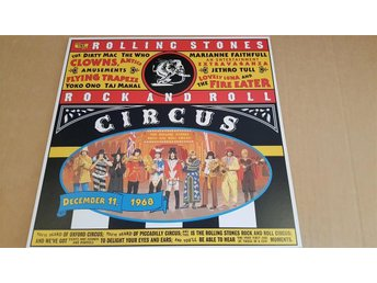 ROLLING STONES - ROCK AND ROLL CIRCUS JAPAN LD