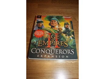 BOX och manual Age of Empires II expansion CONQUEROS PC bigbox - Ljungby - BOX och manual Age of Empires II expansion CONQUEROS PC bigbox - Ljungby