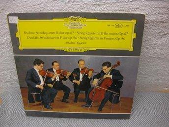 Brahms/Dvorak-Amadeus-Quartett-Streichqu.Op. 67 ? Op. 96 - Nyköping - Brahms/Dvorak-Amadeus-Quartett-Streichqu.Op. 67 ? Op. 96 - Nyköping
