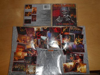 IRON MAIDEN - CD - A REAL DEAD ONE - INKLUSIVE POSTER