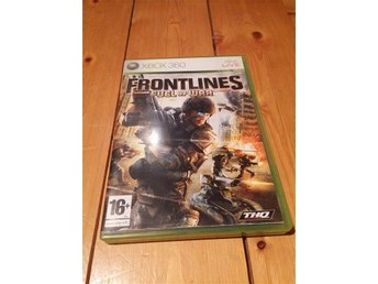 FRONTLINES FUEL OF WAR XBOX 360 (THQ)