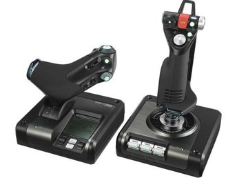 Logitech G X52 Pro Flight Control System - Solna - Logitech G X52 Pro Flight Control System - Solna