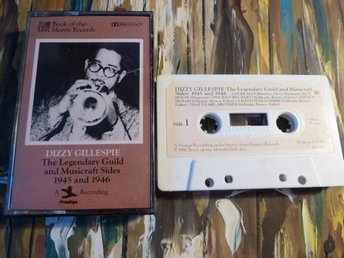 DIZZY GILLESPIE, GUILD AND MUSICRAFT, KASSETTBAND, KASSETT - Anderstorp - DIZZY GILLESPIE, GUILD AND MUSICRAFT, KASSETTBAND, KASSETT - Anderstorp