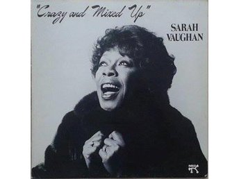 Sarah Vaughan title* Crazy And Mixed Up*Jazz Scandinavia LP
