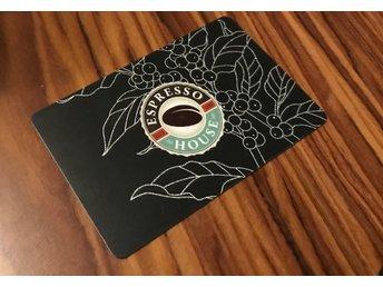 Espresso House Coffee Card presentkort - Arlöv - Espresso House Coffee Card presentkort - Arlöv