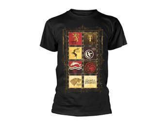 GAME OF THRONES BLOCK SIGILS T-Shirt - Small