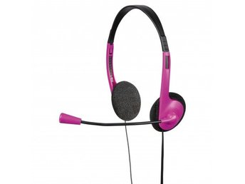 HAMA PC-Headset HS-101 Rosa Svart