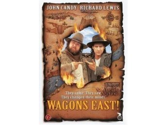 WAGONS EAST! (Svensk DVD!! John Candy) Hans sista film (1994) Raritet