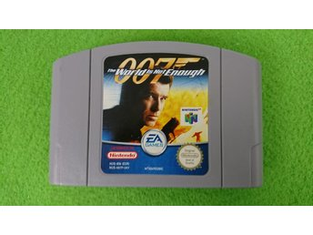 007 The World is Not Enough N64 Nintendo 64