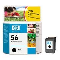 FP HP C6656AE Svart 19ml, Hp No. 56