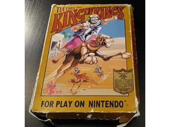 King of Kings The Early Years - Komplett - Nes / Nintendo - Wisdom Tree