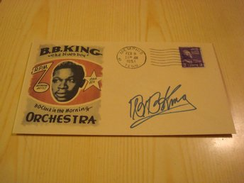 B.B. King kuvert USA