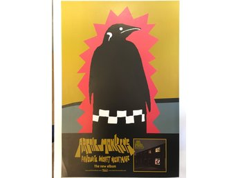 Poster Arctic Monkeys Favorite Worst Nightmare
