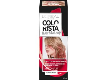 LOREAL PARIS COLORISTA HAIR MAKEUP red 10