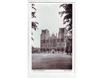 Wells Cathedral West front England Wells somerset