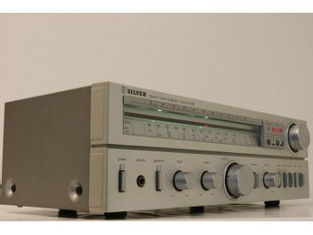 Silver stereo Tuner Amplifier  TA1500