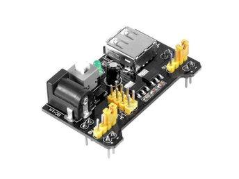 Power Supply Module för kopplingsbräda - 3.3V och 5V Solderless MB102, Arduino - Norsholm - Power Supply Module för kopplingsbräda - 3.3V och 5V Solderless MB102, Arduino - Norsholm