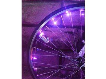 LED Hjulbelysning Belysning till cykel Tuning ROSA! - åryd - LED Hjulbelysning Belysning till cykel Tuning ROSA! - åryd