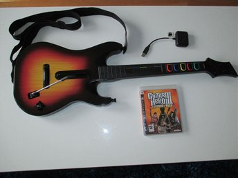 Guitar Hero III - Legends of rock inklusive trådlös gitarr till Playstation 3