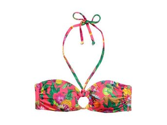 NY rosa blommig bikini överdel Bandeau bh XXS XS 34 H&M somrig sommar sol bad - Väddö - NY rosa blommig bikini överdel Bandeau bh XXS XS 34 H&M somrig sommar sol bad - Väddö