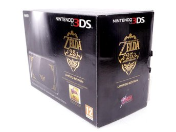 3DS The Legend Of Zelda 25th Anniversary Limited Editon Console - Nintendo 3DS