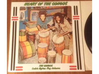 Congos heart of the congos roots Lee Perry LP vinyl reggae mint condition