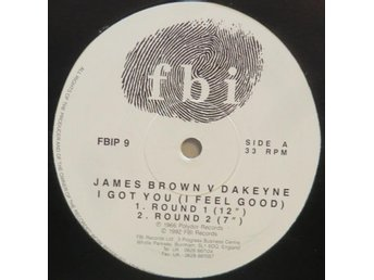 James Brown vs. Dakeyne-I Got You (I Feel Good) / 12""