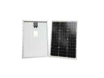 100w Solpanel Solcell Solfångare om 2x50W *NY* A Grade MonoCrystalline