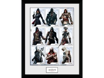 Tavla - Spel - Assassins Creed Compilation Characters